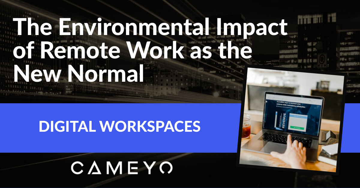 Environmental impact of the New Normal