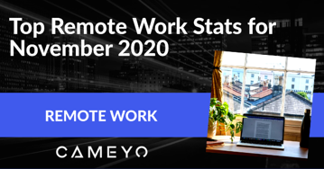 Image for blog post on the Top Remote Work Stats for November 2020